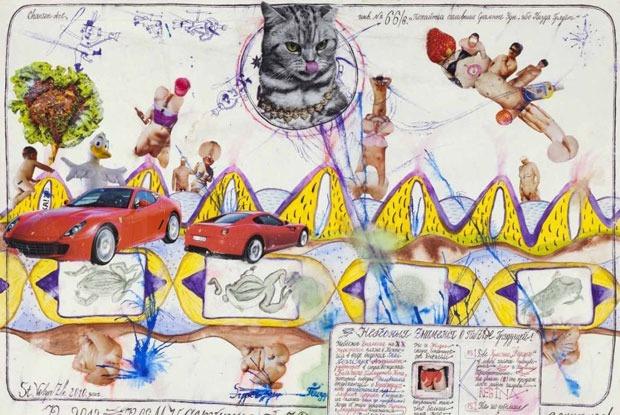 Конкретный фри-джаз, выставка шансон-арта «Отсосите в раю» и Joy
