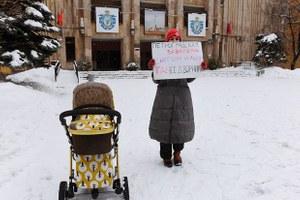 """«Почему я вышла на """"снежный"""" пикет на Петроградской стороне»"""