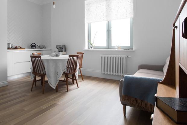 Лаконичная квартира вшведском стиле вновом доме наПетроградской стороне (Петербург)