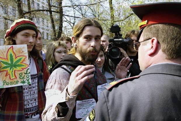 Как в Петербурге согласовали, апотом запретили «Конопляный марш»