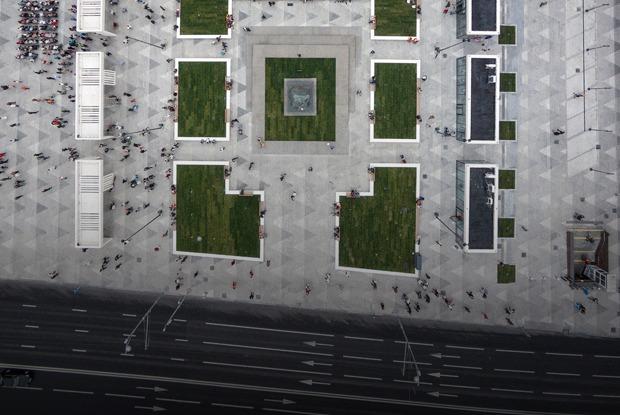 Не место для дискуссий: Триумфальная площадь после реконструкции