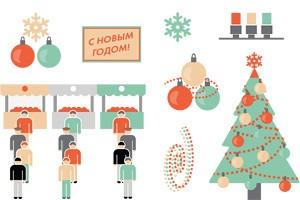 Праздник к нам приходит: Подготовка города к Новому году