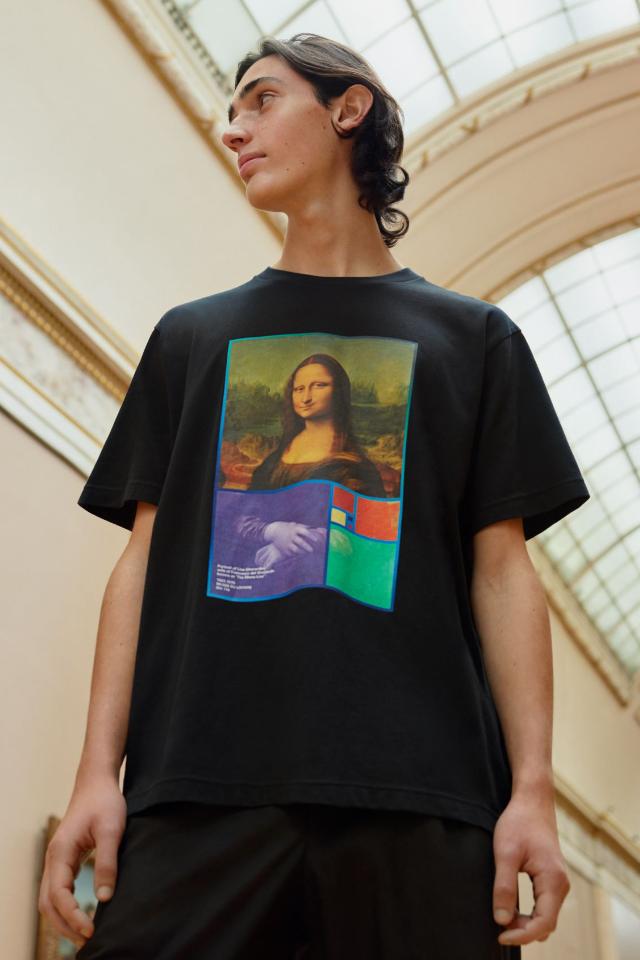 Uniqlo сделает футболки исвитшоты вколлабе сЛувром. ВРоссию ихпривезут уже вфеврале!