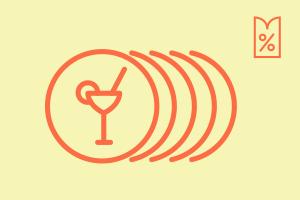 Выгодное предложение: 20акций ибонусов вмосковских кафе