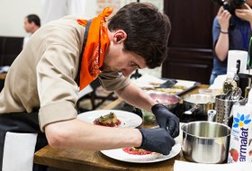 Молодые повара на конкурсе Zuma Kitchen Profi Summer 2017