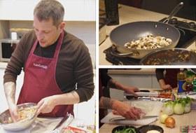 Время есть: Репортаж с мастер-класса Айзека Корреа на редакционной кухне журнала «ХлебСоль»
