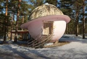 Pink Planet House: Загадка круглого дома под Петербургом
