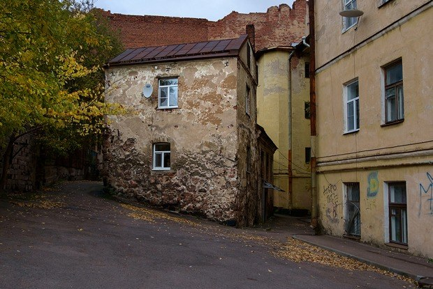 Я живу всамом старом доме России