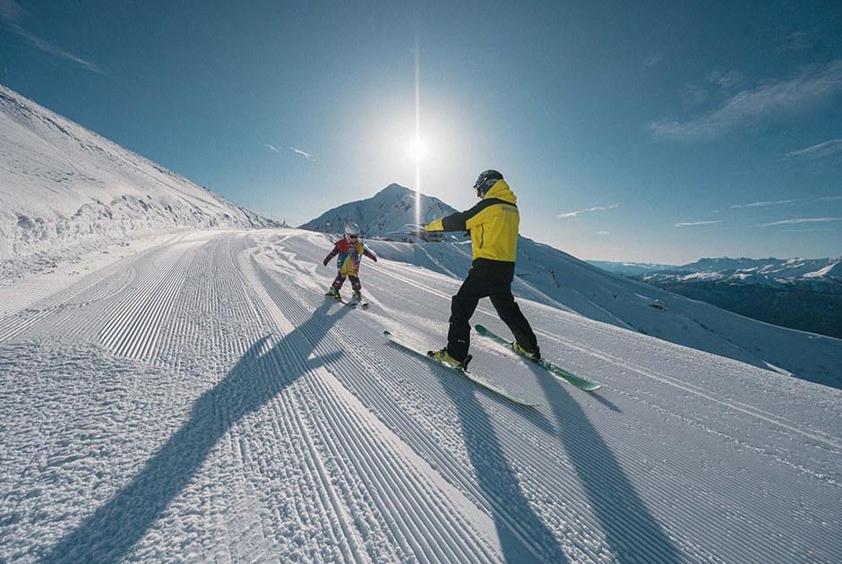 Как встать на лыжи легко и непринужденно
