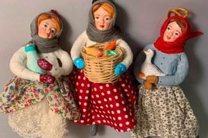 «Сучья и прутья»: Инстаграм мастерской винтажных кукол