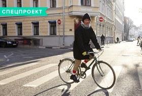 В диких условиях: Велосипед против автомобиля в –10 ˚C