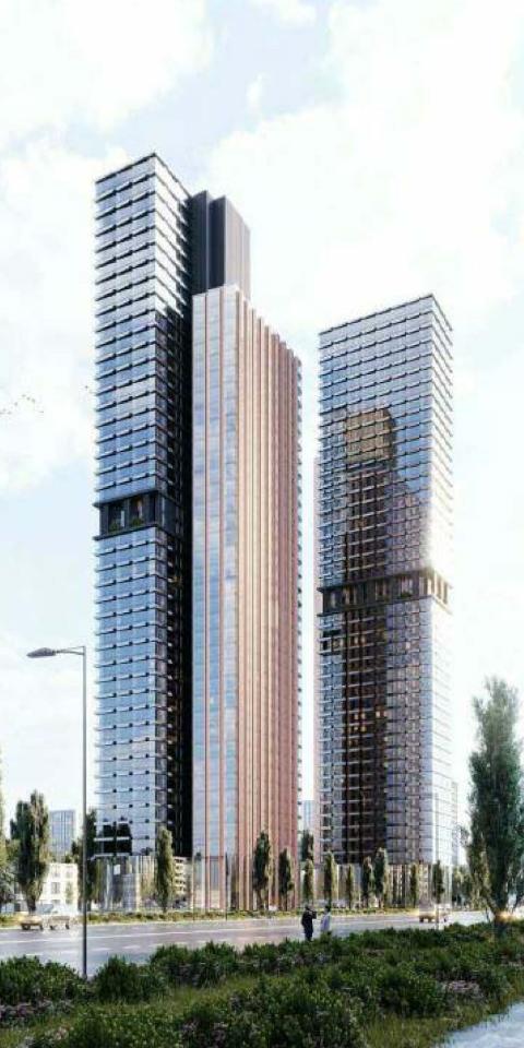 Наюго-западе Москвы появится высотный жилой комплекс стеррасами