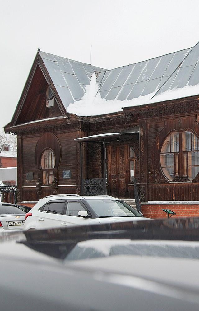 «Я работаю вдеревянном доме-памятнике русского модерна вЕкатеринбурге»