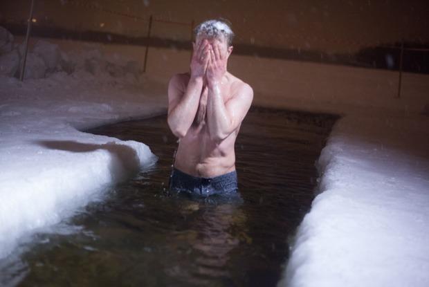 Крещенские купания в снимках Instagram
