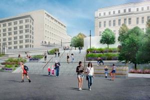 Как будет выглядеть новый вход впарк Горького