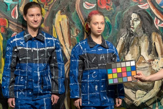 Как создают «невидимые портреты»: Лю Болин в «Эрарте»