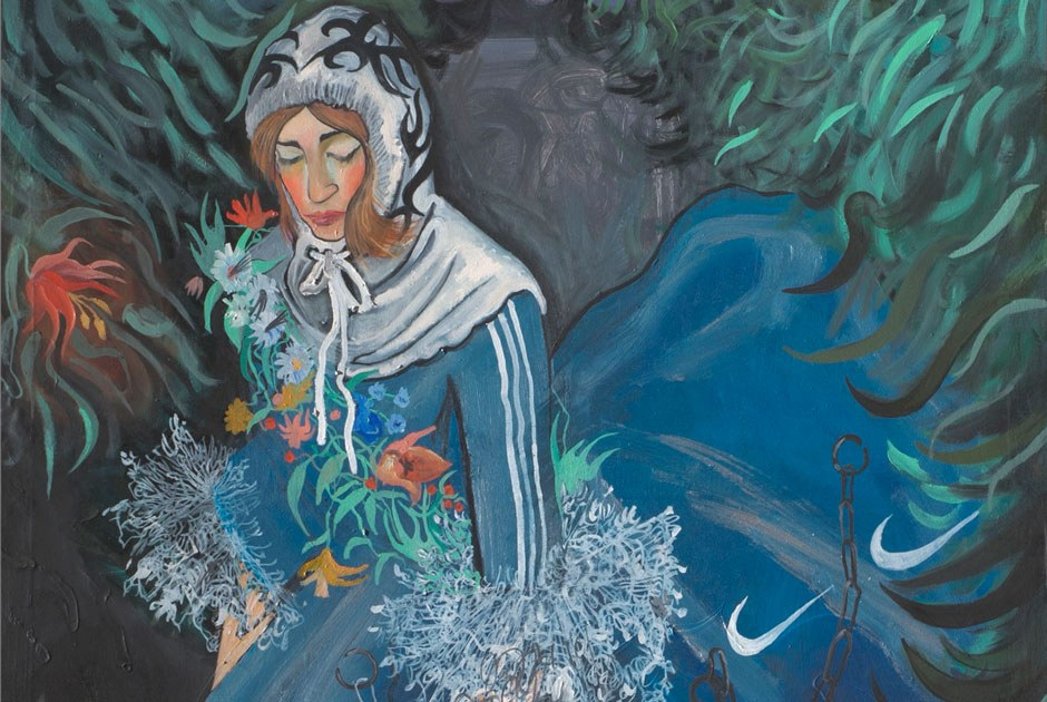 «Невинные шалости»: Как молодой художник изНовосибирска скрестил Дидро имемы