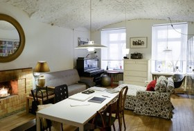 Квартира свнутренними двориками наНевском проспекте
