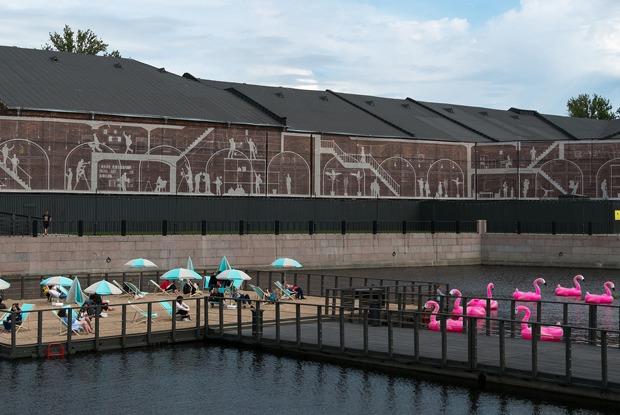 11 летних террас у воды вПетербурге