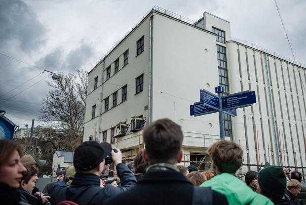 Защитники Таганской АТС— оважности сохранения здания
