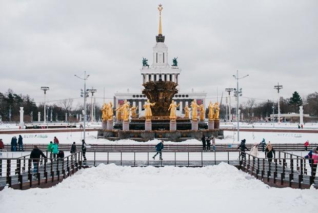 Где в Москве кататься наконьках, лыжах исанях