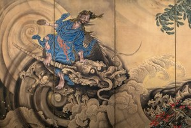 Японское искусство вПушкинском: Герои эпохи Эдо