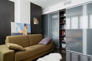 Трёхкомнатная квартира сэклектичным интерьером