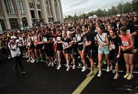 Бег с ними: В Москве прошел марафон Run Moscow