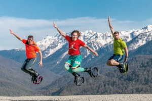 Какими видами спорта можно заняться в горах Сочи, сняв лыжи