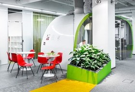 Интерьер недели (Москва): Офис «Яндекса» в БЦ «Строганов»