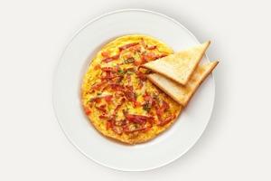 Завтраки дома: Омлет счоризо изUDC
