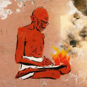 Cтрит-арт-художники Gandhi о мемориальных досках для простых горожан