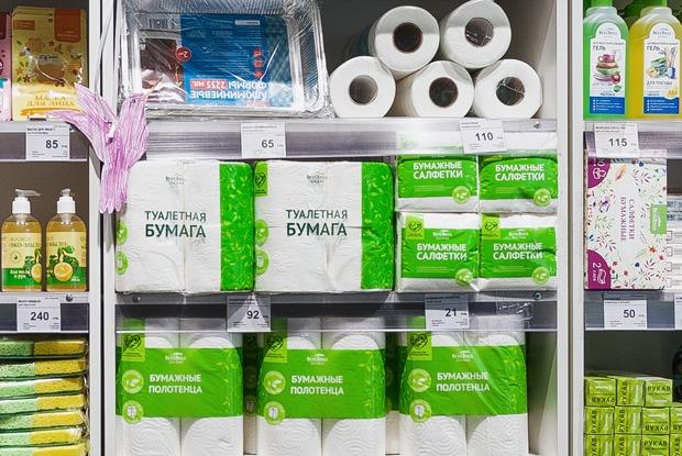 Опустели ли полки магазинов из-за коронавируса