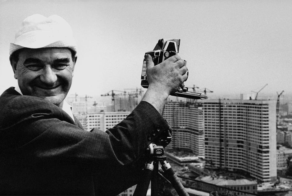 Советский модернизм вМоскве наснимках Наума Грановского