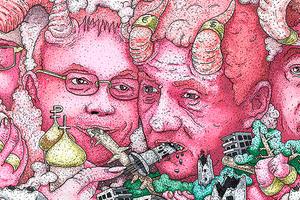 «Город бесов» и взлом реальности: Лучший стрит-арт 2019 года в Екатеринбурге