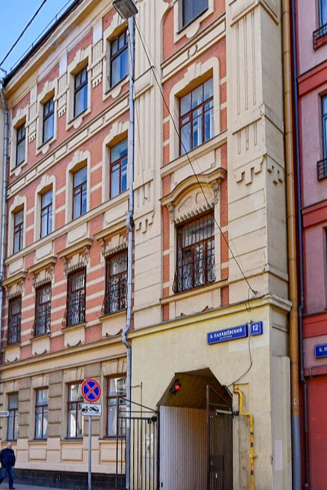 В Большом Палашевском переулке отремонтируют дореволюционный дом