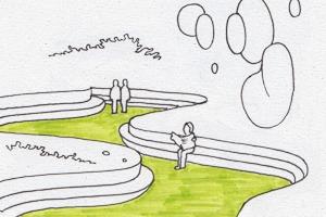 Идеи для города: Парк на месте свалки вТяньцзине