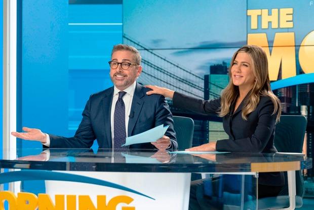 «Утреннее шоу»: Дженнифер Энистон иРиз Уизерспун вкорпоративной драме, осмысляющей движение #MeToo