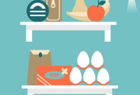 Как правильно хранить продукты дома