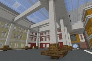 В Minecraft открыли копию кампуса ВШЭ. Вот как он выглядит