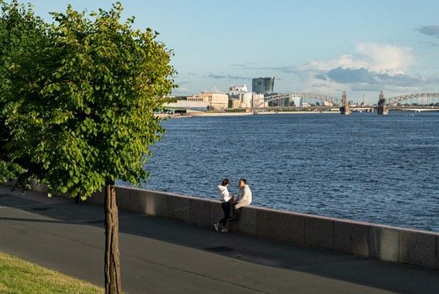 От бизнес-парка «Полюстрово» досамого красивого моста Петербурга