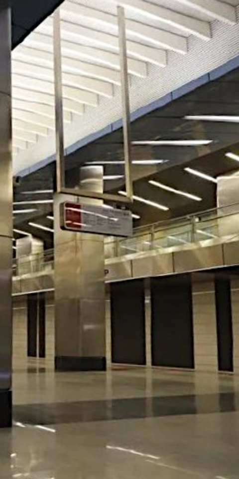 ВМоскве открыли станцию «Деловой центр» Солнцевской линии метро