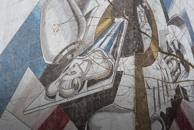 Лучшие советские мозаики вМоскве