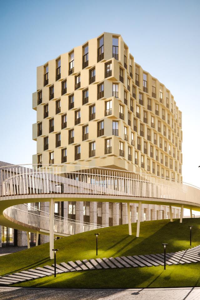 ВМоскве построят жилой комплекс, вдохновленный модернизмом