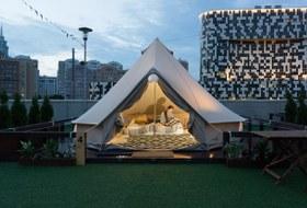 «Как яночевала вмодной палатке уТЦ»