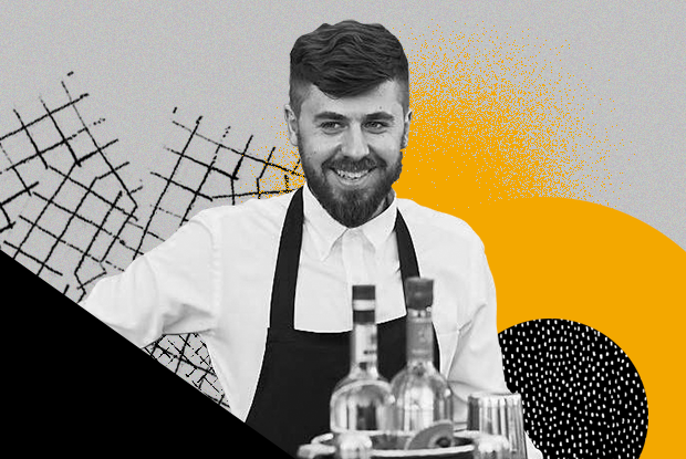 Виталий Бганцов, совладелец баров «Вода» и Veladora