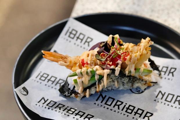 Открытие «Брикет маркета», суши-бургеры вNORiBAR ипицца каквИталии наТрубной