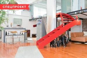 Двухуровневая квартира фотомодели в Милане