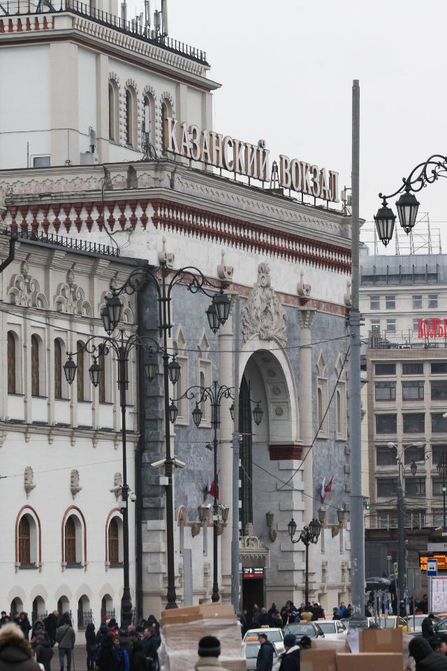 Центр Вознесенского ихудожница Ирина Корина представят выставку наКазанском вокзале