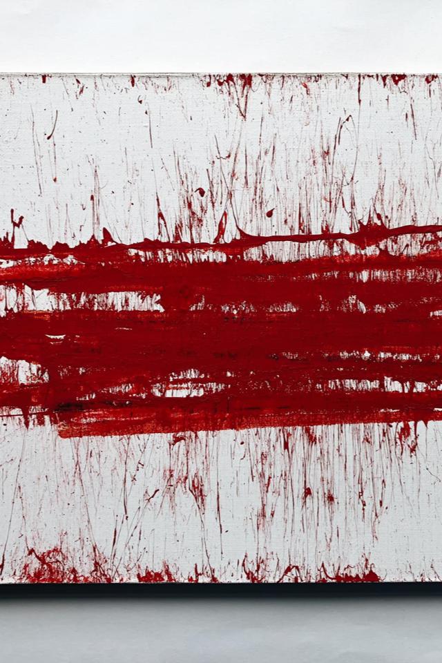 КартинуАртема Лоскутова «Беларусь», написанную дубинкой, купили затри миллиона рублей
